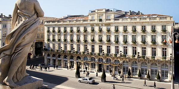 Grand h tel de bordeaux spa un h tel de standing for Hotel de luxe bordeaux