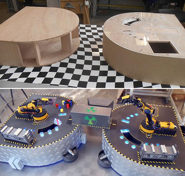BRAS ROBOTS - Avant apres