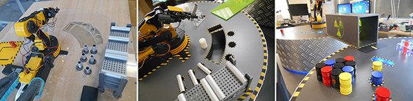 BRAS ROBOTS - Evolution habillage