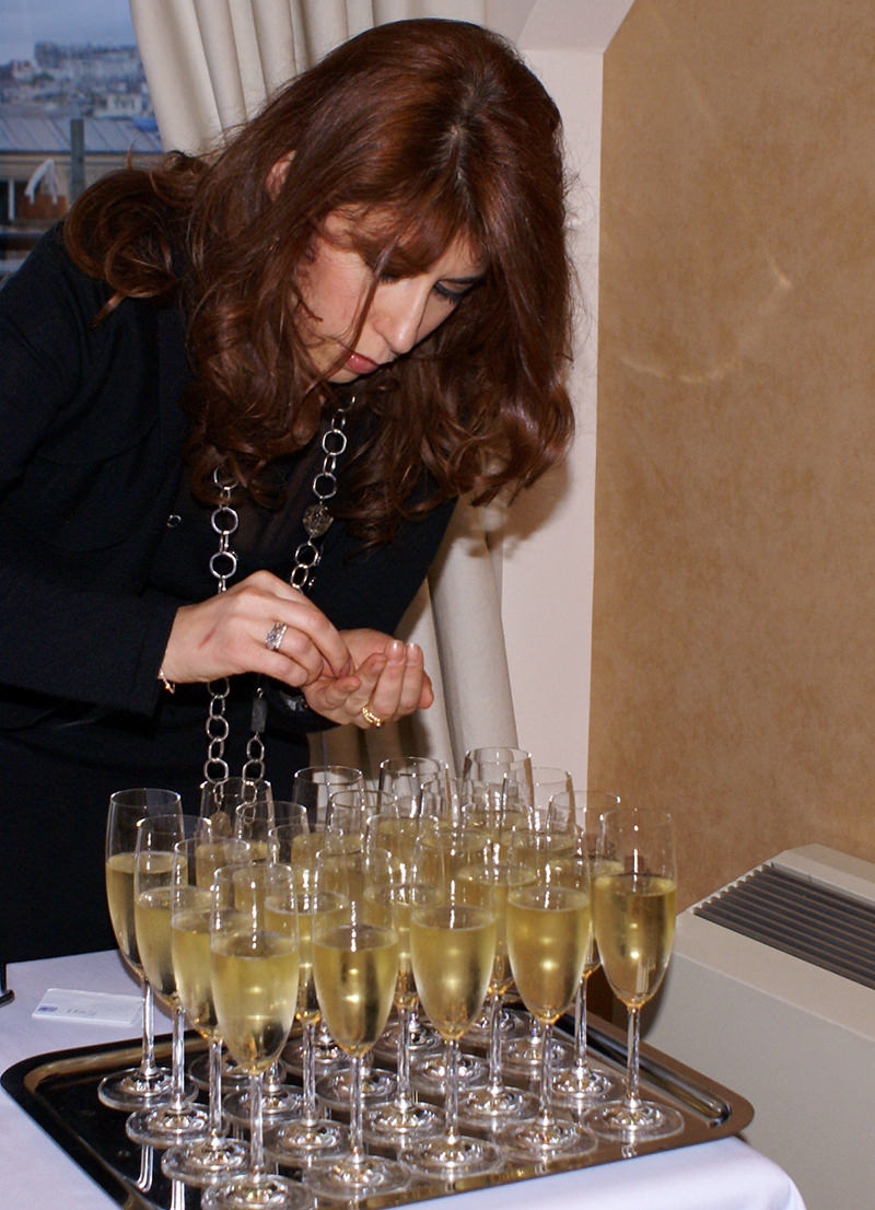 champagne et diamant