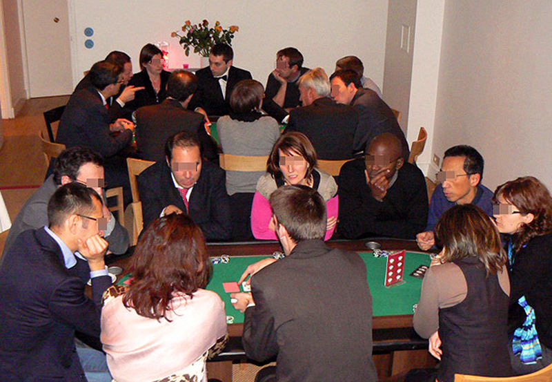 animation poker et triche